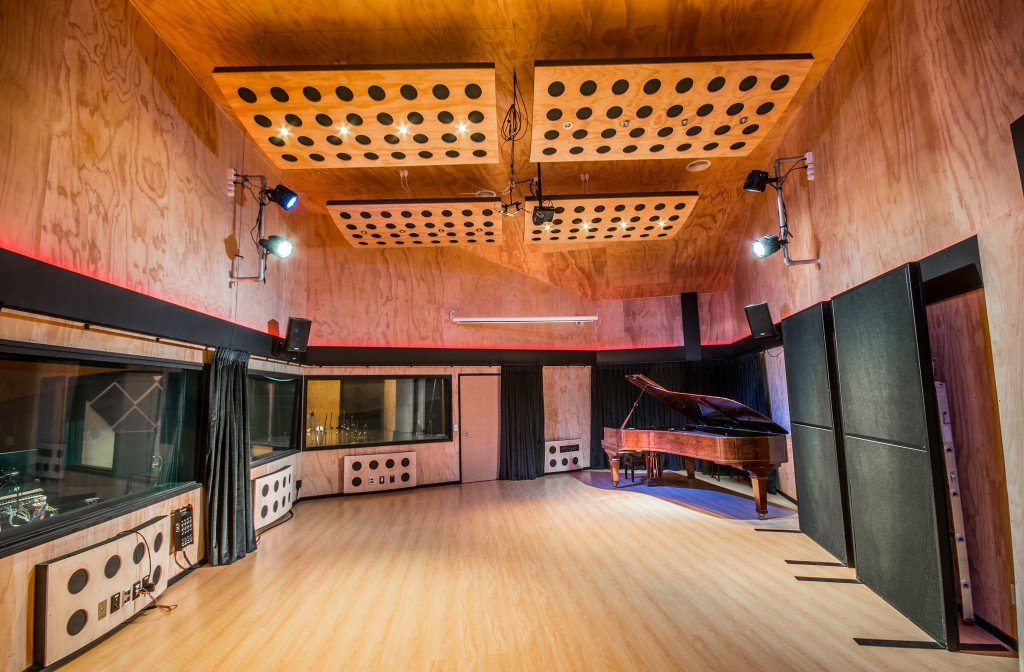 Orange Recording Studios in Ferrymead, Christchurch