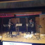 A 4-piece brass group recording